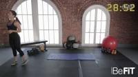 健美训练 30分钟健身房有氧无器械健身循环锻炼_高清