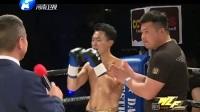 德国钢铁侠被中国小伙重拳KO打昏 这一拳让对手在场上趟了10分钟没起来