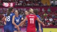 2017世界女排大奖赛昆山站中国vs俄罗斯比赛录像