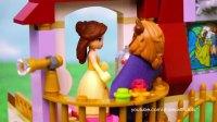 好玩的《美女与野兽》乐高玩具