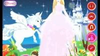 芭比公主与飞天白马