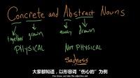 实体名词和抽象名词:演讲部分 05