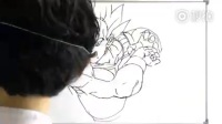 动漫人物栩栩如生, 日本漫画高手现场作画