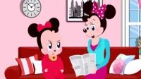 米老鼠和唐老鸭之米老鼠和猫做朋友卡通动画玩具视频34