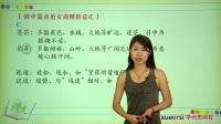(1)选词填空知识精讲(上):近义词辨析第一段