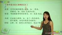 (2)选词填空知识精讲(上):近义词辨析第二段