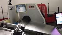 电脑显示器钢丝支架折弯成型-铁线折弯机生产视频