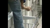 空调维修培训正版视频教程全集6-2空调安装过程(现场拍摄)