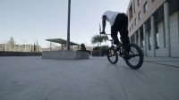 Courage Adams BMX ++video++ Lined Up Madrid  Red Bull