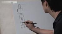 油画直接画法素描几何体步骤_素描人物入门教学视频_色彩搭配原理与技巧零基础素描班