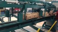 多片锯,全自动流水线原木多片锯视频方木多片锯,圆木多片锯方木多片锯自动生产线,正启机械多片锯视频。