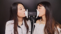 Twin Mouth sounds[no talking asmr]kiss sound,lip sound,