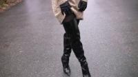 成熟范搭配: 黑色尖头高跟鞋, GET优雅职业范