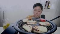 [ KEEMI ]烤奶酪+迷你面包吃的声音 [ ASMR ]