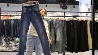 女装批发-夏款时尚品牌男装长牛仔裤30件起批--446期