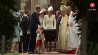乔治小王子帮凯特王妃看护妹妹, 哥哥力爆棚