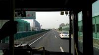【巴士五公司】952路B线公交车(W0B-001H 宝山95路代车)(人民广场武胜路-宝山)全程【VID_20170722_154135】