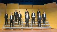 山西省阳泉校友合唱团演出曲目《蔡文姬别离情》《送你一个长安》《那是个谁》《桃花红杏花白》《杨柳青》