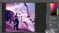 眼大易学 photoshop自学教程全集 逆光婚纱写真照(样片)