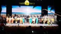 丹东市庆祝八一建军节广振芭蕾舞团表演芭蕾舞(军民团结一家亲)