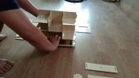 木制桌面化妆品收纳盒安装视频三层四抽