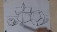15天学会素描速写男装_几何体的三视图_素描教程图片杭州色彩教学视频