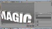 [第十二期]C4D动画字体高级教程之MAGIC字体动画