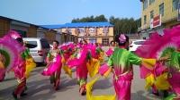 榆树市大坡商贸城老年舞蹈队秧歌和扇子舞(手机版)