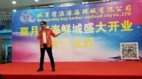 本人参加《惠州市双月湾海鲜城盛大开业典礼》演唱的歌曲!