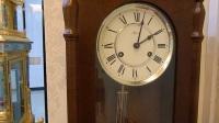 维修停摆的德国赫姆勒hermle机械挂钟
