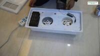 诗达特电器 集成吊顶智能风暖浴霸安装视频2