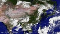 卫星云图-2017年8月3日10时15分