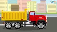 小卡车运输苹果 儿童汽车 工程车  汽车总动员