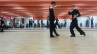 拉丁舞恰恰舞双人舞慢动作教学