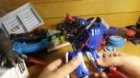冰火龙猫玩具视频9变形金刚5v级别擎天柱