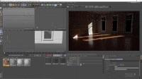 C4D阿诺德材质着色器教程V02-0203镶木地板和室内照明