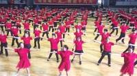 """2017年江苏省""""全民健身日""""无锡分会场启动仪式,无锡市广场健身舞运动协会集体展示"""