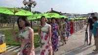 瑞安市首届旗袍秀在马屿江桥村隆重举办