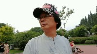 在上海蔓趣公园散步患癌症中的潘承祥掠影(1)