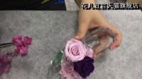 花儿宣言天猫旗舰店永生花水晶玻璃鞋制作教程