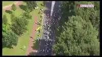 2017环弗兰德斯自行车大赛第1赛段最后冲刺阶段