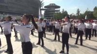 【拍客】蓟州文艺志愿者参加北京奥体中心举行的全民健身日活动
