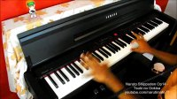 Naruto Shippuden Opening 14 Tsuki no Ookisa(月の大きさ) - Piano [Full HD,1920x1080]