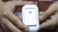 别墅远距离智能遥控电子门铃应急呼叫器 家用无线门铃,无线门铃WT-51611T带温度显示
