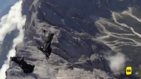 Gopro翼装飞行玩儿的就是心跳 不疯狂的人生有什么意思?
