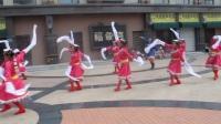 辽宁凤城秧歌之秋霞风韵秧歌舞蹈队藏族舞吉祥谣练习视频