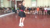 汪长勋的学生陈晨单人单跳恰恰舞