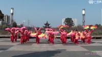 沭河公园广场舞 东方红 表演