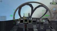 模拟 西安机场往返 并列双座飞机带10枚弹 亚音速飞30分钟