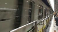 【上海地铁】二号线列车人民广场空车甩站通过